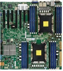 SUPERMICRO MB 2xLGA3647, iC624, 16x DDR4 ECC, 10xSATA3, 2x M.2 (NVMe), PCI-E 3.0/3,4(x16,x8), 2x 10Gb LAN, IPMI
