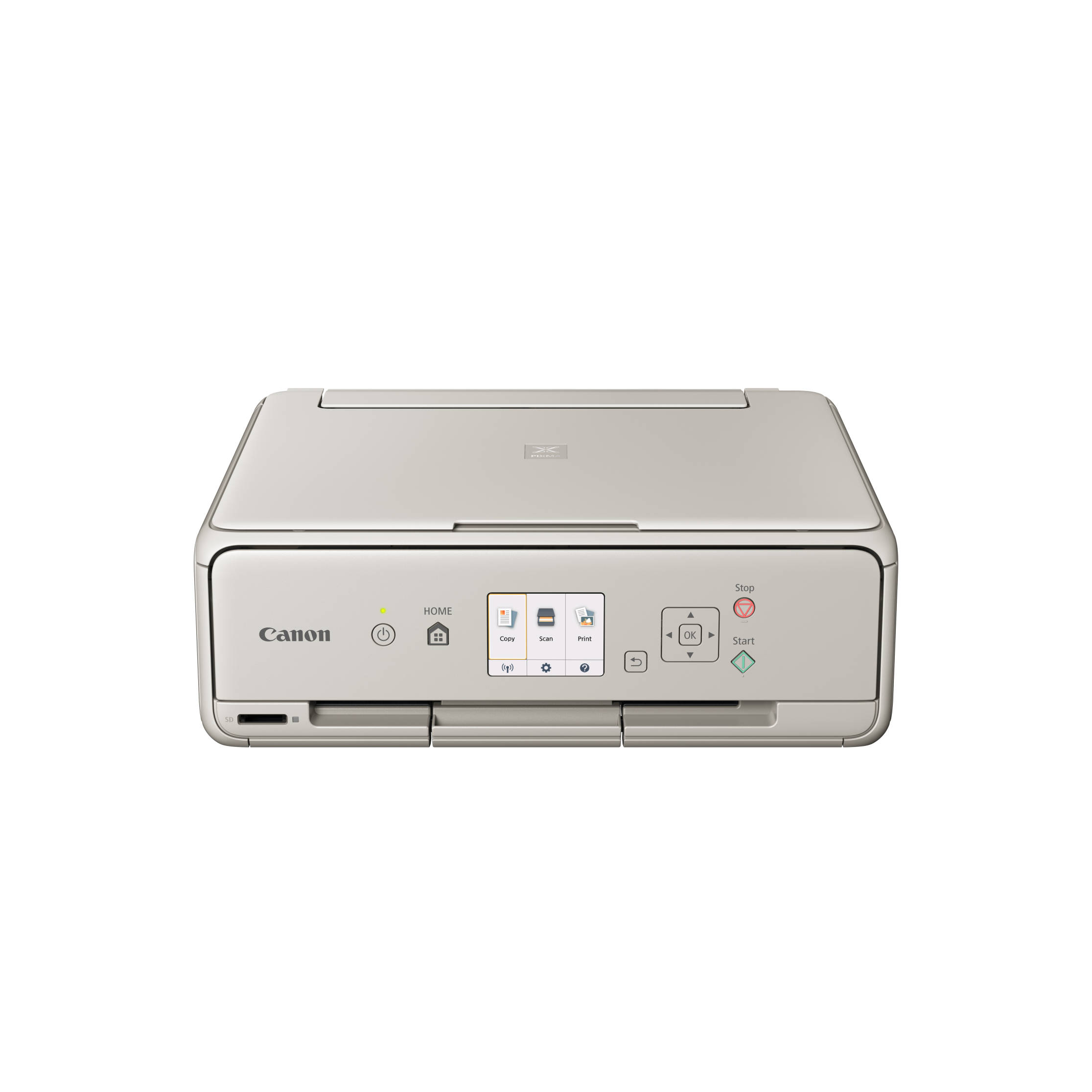 Canon PIXMA TS6052 - PSC/Wi-Fi/AP/WiFi-Direct/Duplex/PictBridge/4800x1200/USB grey +PP-201 PAPER
