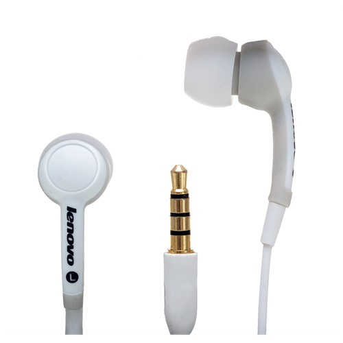 Lenovo Idea sluchátka In-Ear Headset P165 White = bílá