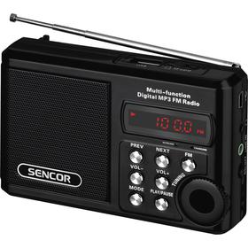 Radiopřijímač Sencor SRD 215 B černý