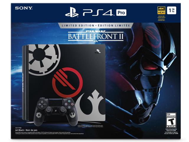 SONY PlayStation 4 PRO - 1TB + StarWars: BattleFrtont II