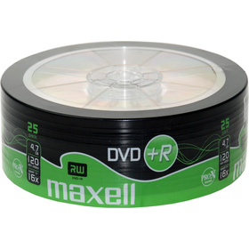 DVD+R 4,7GB 16x 25SH 275735 MAXELL