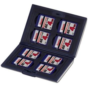 Hama pouzdro Fancy pro paměťové SD karty, černé