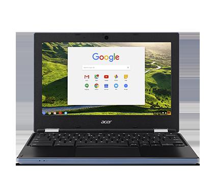 "Acer Chromebook 11 (CB3-131-C7W4) Celeron N2940/4GB/eMMC 32GB+N/HD Graphics/11.6"" HD matný/Google Chrome/Blue"