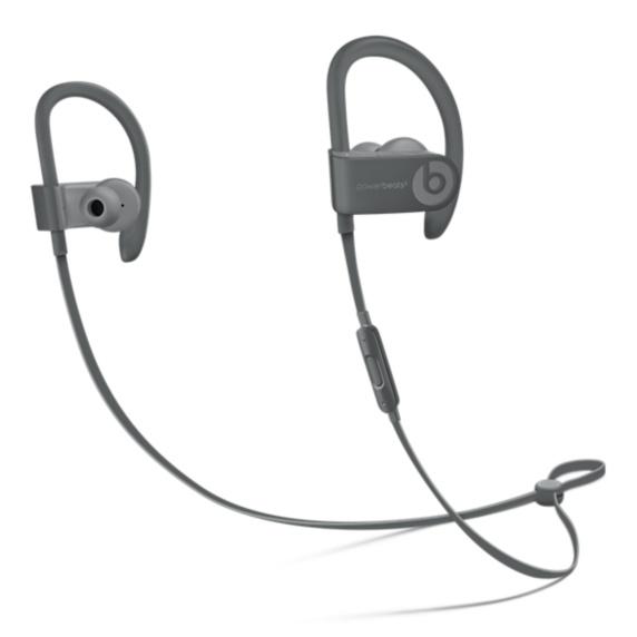 Powerbeats3 Wireless Earphones - NC- Asph Gray