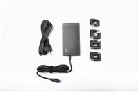 CRONO CB10037, univerzální napájecí adaptér, 65W, USB, 8 konektorů, LCD, slim type