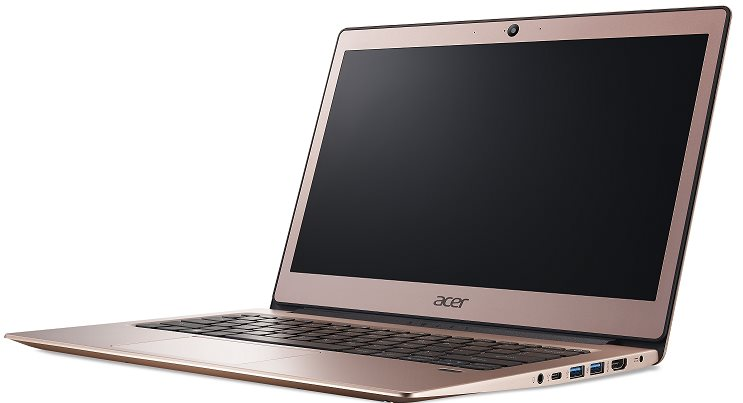 "Acer Swift 1 (SF113-31-P2XQ) Pentium N4200/4GB+N/A/eMMC 64GB+N/A/HD Graphics/13"" FHD IPS LED/BT/W10 Home/Pink"