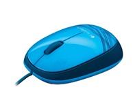 Logitech myš Notebook Mouse M105 Blue, modrá