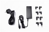 Crono CB10036 - univerzální napájecí adaptér, 65W, 2x USB, 8 konektor