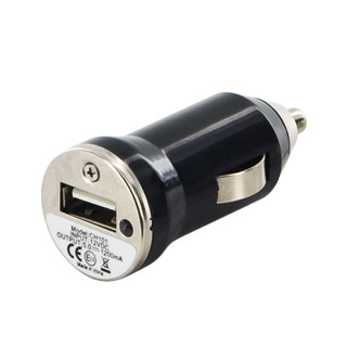 Whitenergy Univerzální nabíječka do vozu 12V s USB výstupem 500mA