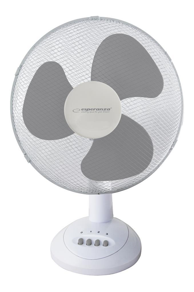 Esperanza EHF003WE CHINOOK stolní ventilátor, bílo-šedý