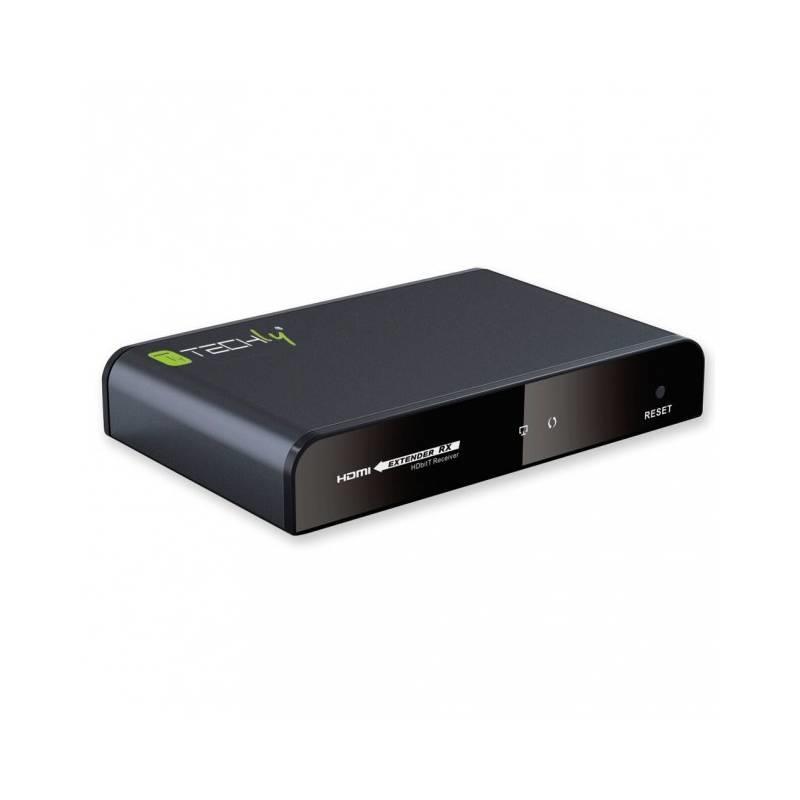 Techly Přijímač pro HDMI extender HDbitT, kabel Cat.6/6a/7 (P/N: 020751)