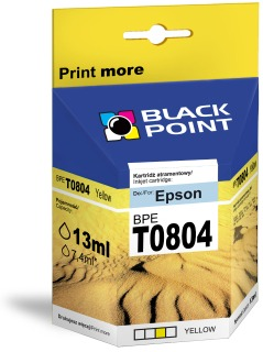 Ink Black Point BPET0804 | Yellow | chip | 13ml | Epson T0804