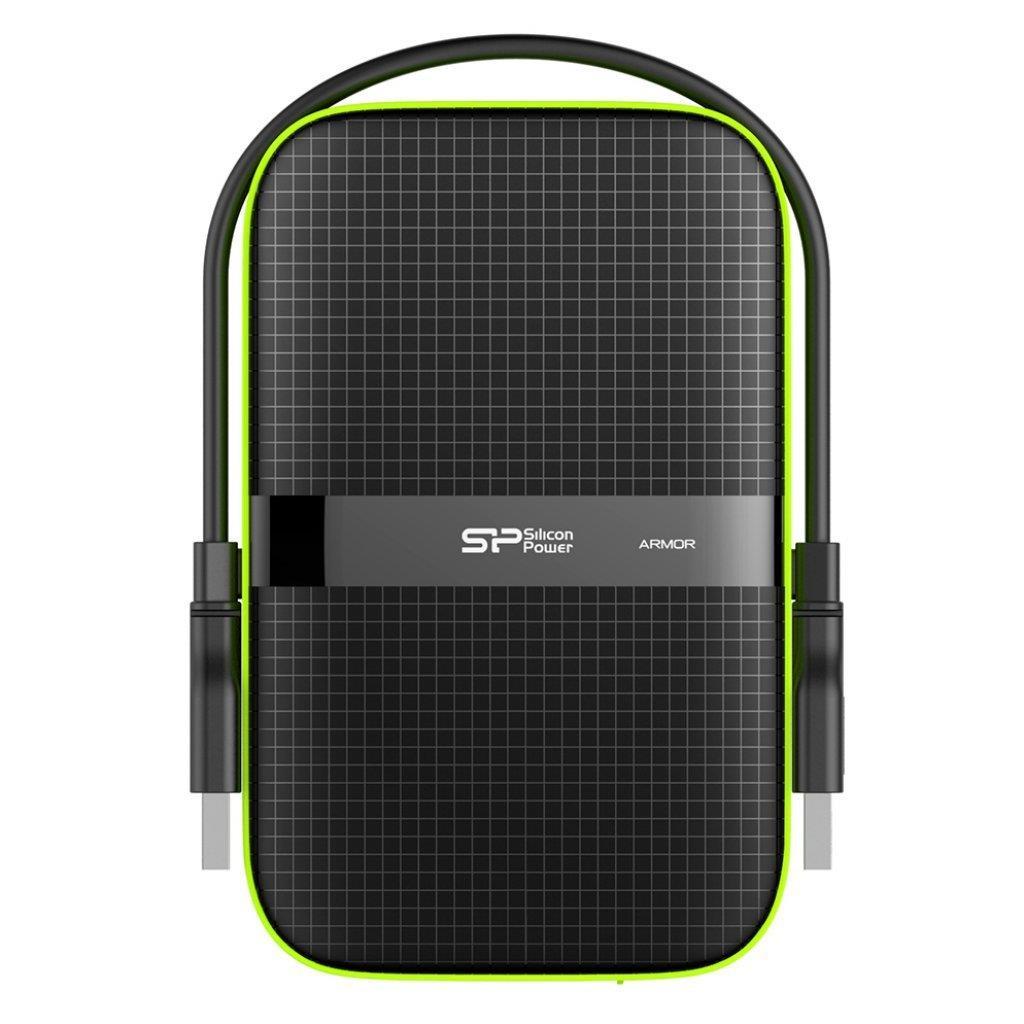Silicon Power externí HDD Armor A60 2.5'' 2TB USB 3.0, IPX4, černá