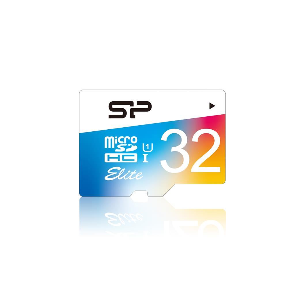 Silicon Power paměťová karta Micro SDHC 32GB Class 1 Elite UHS-1 +Adapter