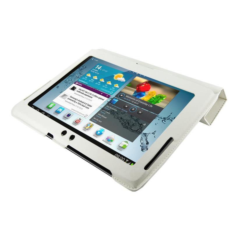 4World Pouzdro - stojan pro Galaxy Tab 2, 4-Fold Slim,, 10'', bílý