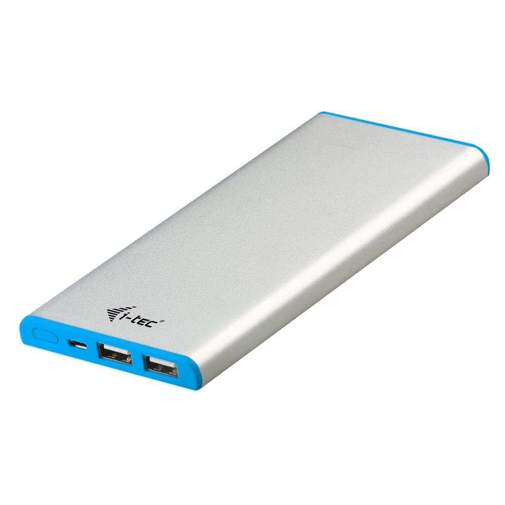i-tec Metal Power Bank 8000 mAh Li-pol pro iPhone iPod Smartphone Android GSM