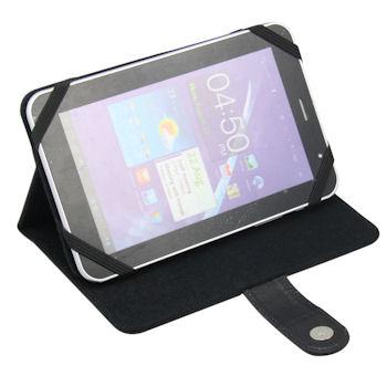Qoltec Pouzdro pro tablet 9.8'', eko kůže, černé