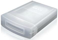 IcyBox ochranný box pro 3.5'' HDD, průhledný