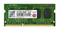 SODIMM DDR3 4GB 1333MHz TRANSCEND JetRam™, 512Mx8 CL9, retail