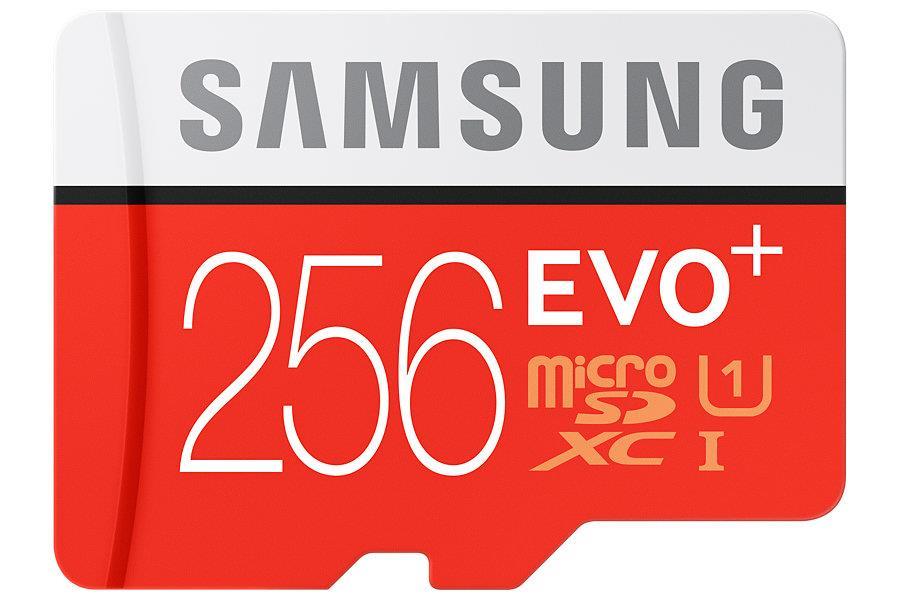 Samsung Micro SDXC karta 256GB EVO Plus (Class 10 UHS-3) + SD adaptér