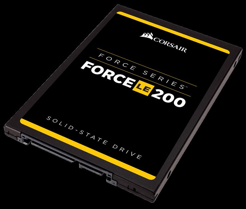 Corsair SSD Force LE200 Series 240GB SATA III 2.5'' (560MB/s; 530MB/s), 7mm