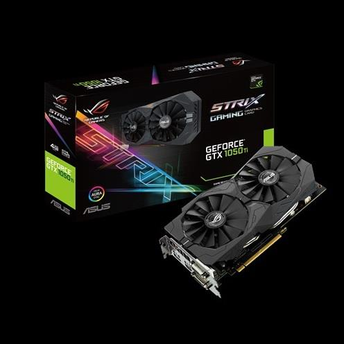 ASUS ROG Strix GeForce GTX 1050 Ti 4GB GDDR5