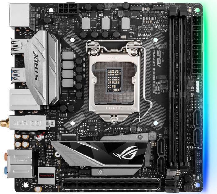ASUS STRIX B250I GAMING, LGA-1151, DDR4 2400/2133MHz, 4 x SATA 6Gb/s, USB 3.0