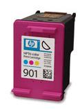 Inkoust HP 901 tri-colour