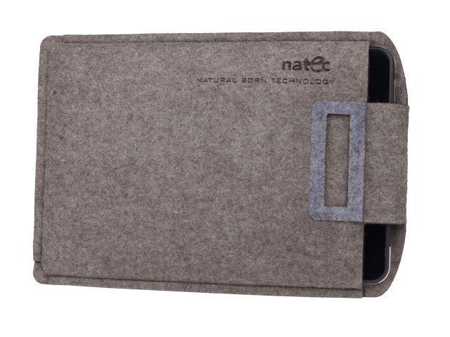 Natec SHEEP pouzdro pro tablet 10'', kávově- šedé