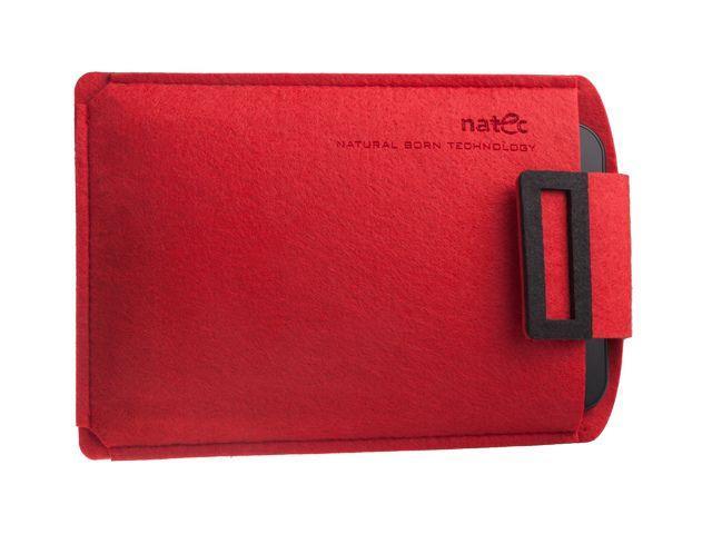 Natec SHEEP pouzdro pro tablet 10'', červeno-černé