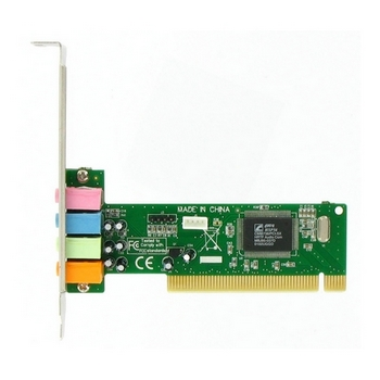 4World Zvuková karta C-Media CMI8738, 4-kanál, s PCI rozhraním, box