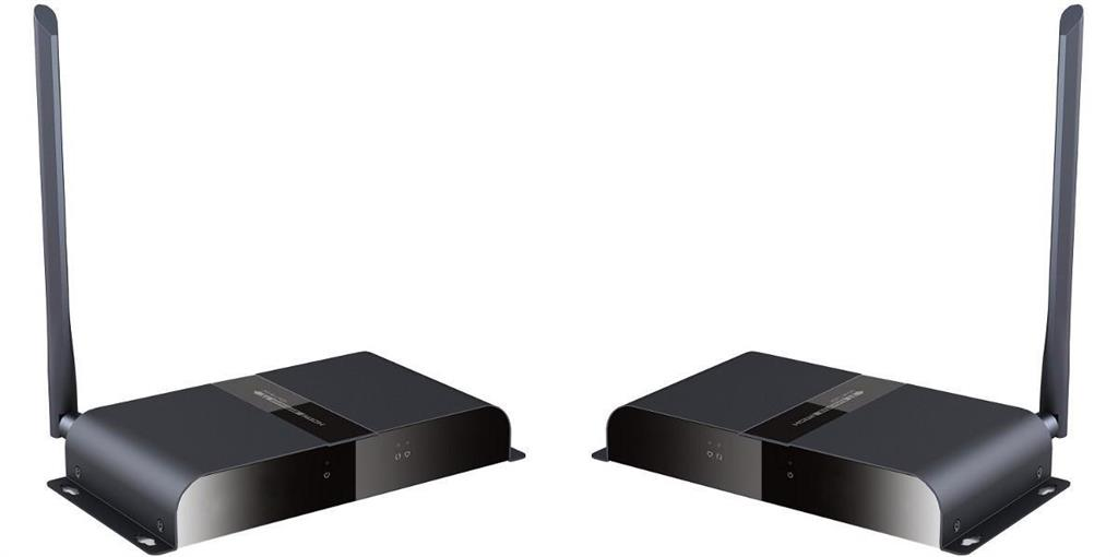 Techly Bezdrátový HDMI extender HDbitT max. 200m FullHD 1080p 5.8 GHz IR
