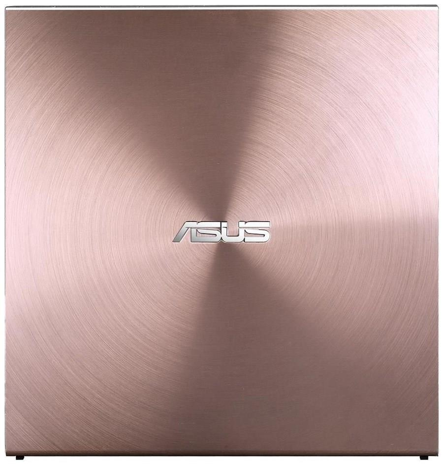 Asus DVD+/-RW 08U5S, externí tenká, 24x, růžová