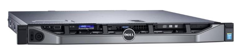 DELL server PowerEdge R330 E3-1230 /24G /4x2TB SATA/ H330/ iDrac/2x350W/3NBD Basic