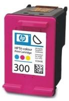 HP 300 Tri-color Ink Cart, 4 ml, CC643EE