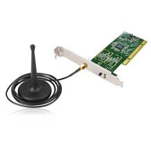 Edimax bezdrátová PCI karta, 802.11n 150Mbps, ant. s1 m kabelem, RP-SMA