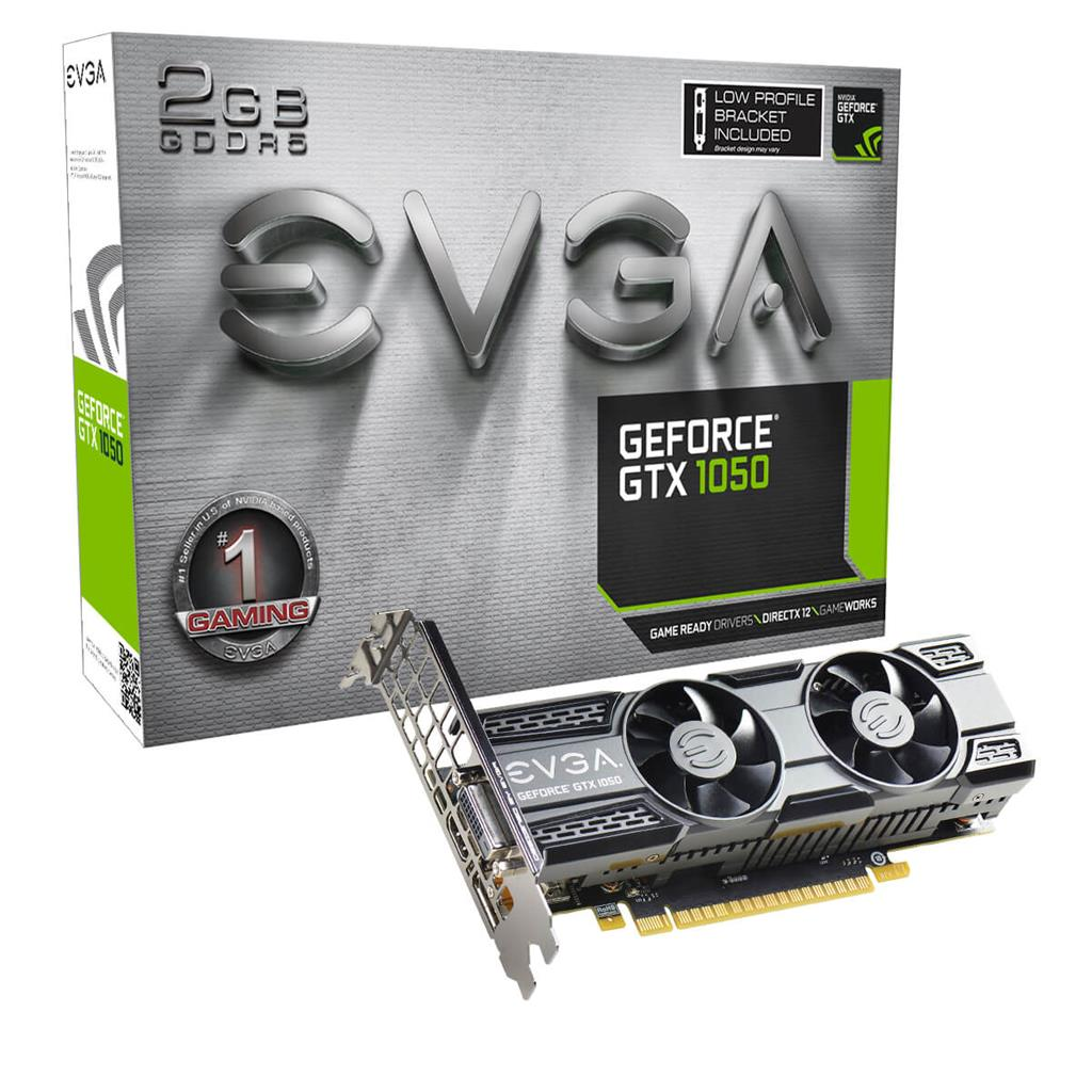 EVGA GeForce GTX 1050 ,DVI-D+HDMI+DP