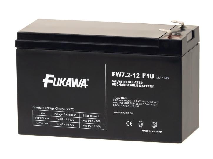 FUKAWA Akumulátor FW 7.2-12 F1U (12V/7,2Ah); 12341