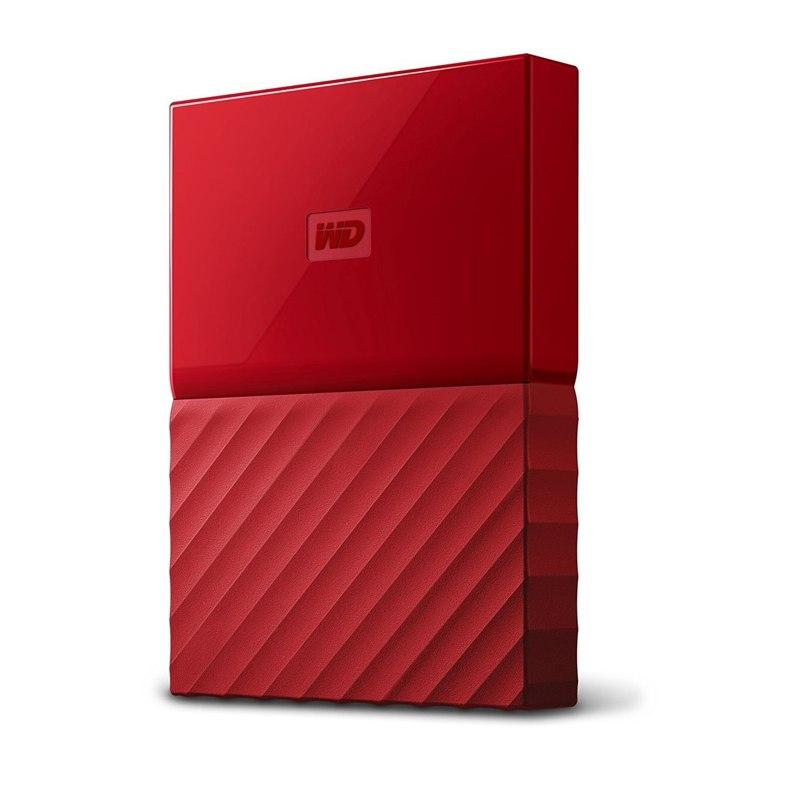 WD My Passport 2.5'' externí HDD 3TB, USB 3.0, červený