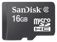 SanDisk microSDHC karta 16GB