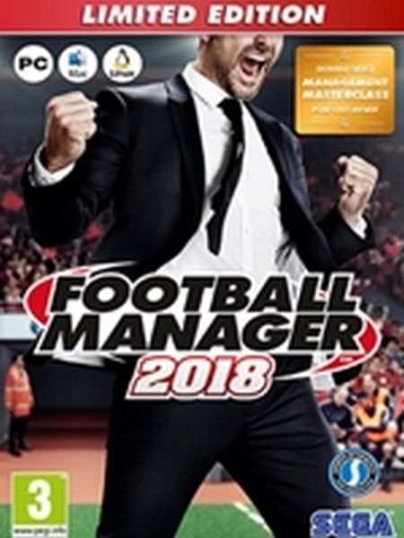 Football Manager 2018 Limitovaná Edice PC