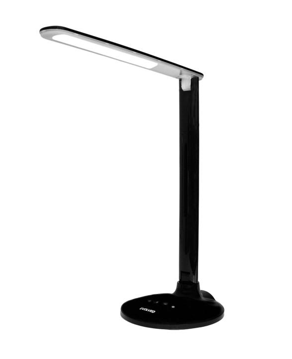 EVOLVEO Lumos LX11, LED stolní lampa, dotykové ovl. , USB nabíjení, regulace světla s pamětí, černá