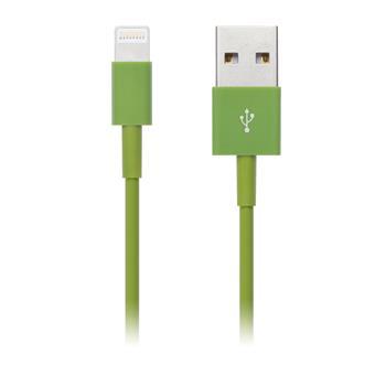 CONNECT IT COLORZ kabel Apple Lightning - USB, 1m, zelený