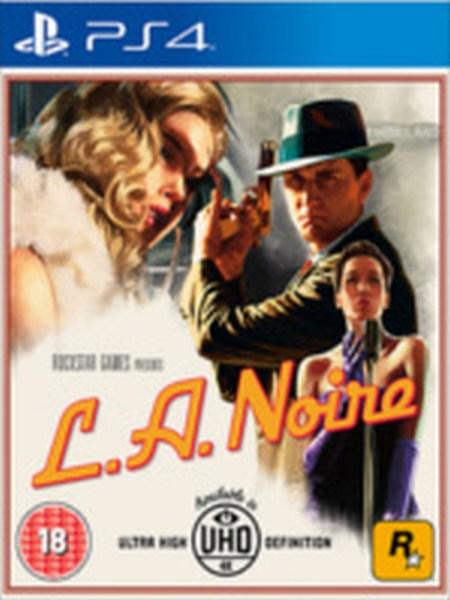 Take 2 PS 4 hra L.A. Noire
