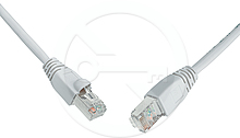 Patch kabel CAT5E SFTP PVC 20m šedý snag proof