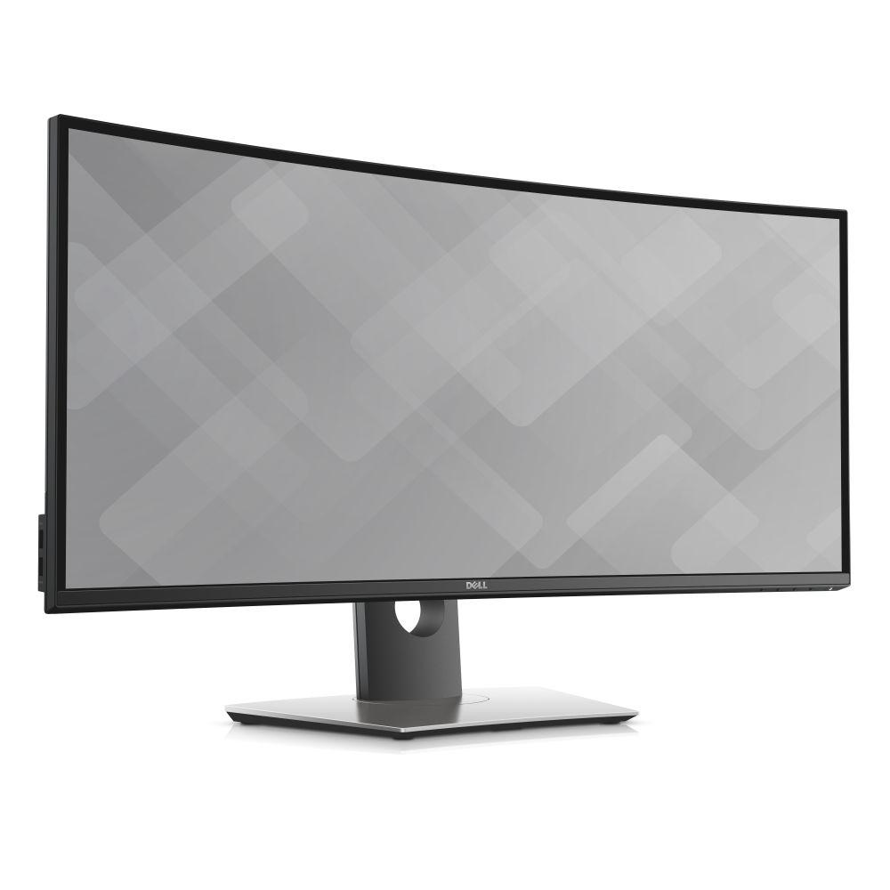 """34"""" LCD Dell U3417W Ultrasharp IPS 21:9 5ms/1000:1/300cd/VESA/DP/mDP/HDMI/3RNBD/Černý"""