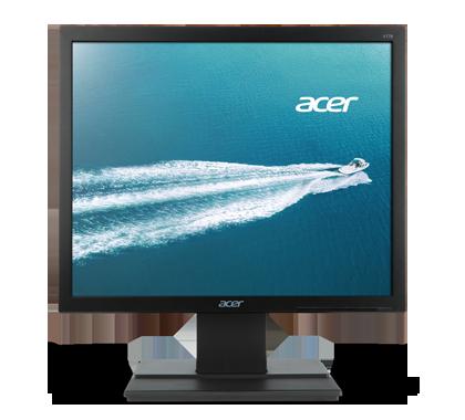 "Acer LCD V176LB 17"" 1280 x 1024, 100M:1, 5 ms, Black, EcoDisplay"
