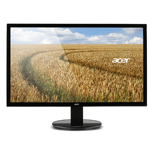 "ACER LCD K222HQLBID, 55cm (21.5"") LED FHD,1920 x 1080,100M:1,200cd/m2, 5ms, DVI, HDMI, Black"