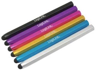 LOGILINK - Stylus pro dotykové obrazovky, černá